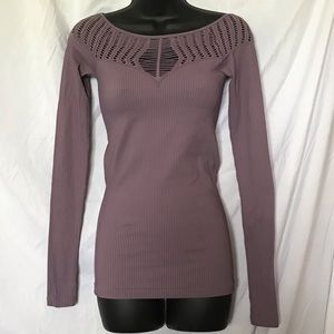 FREE PEOPLE seamless cut out top - Size M/L